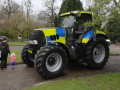 10. Police Tractor - UK