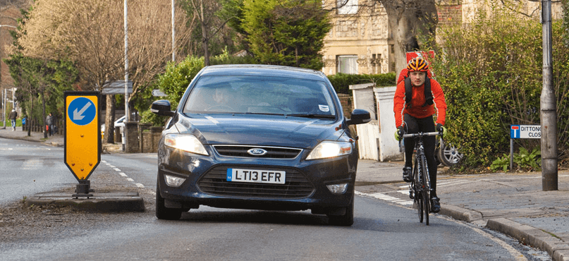 Car Cycle accidents are common