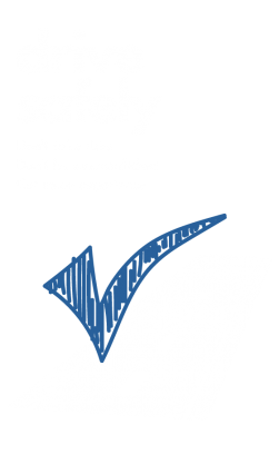 blue tick for drive safely